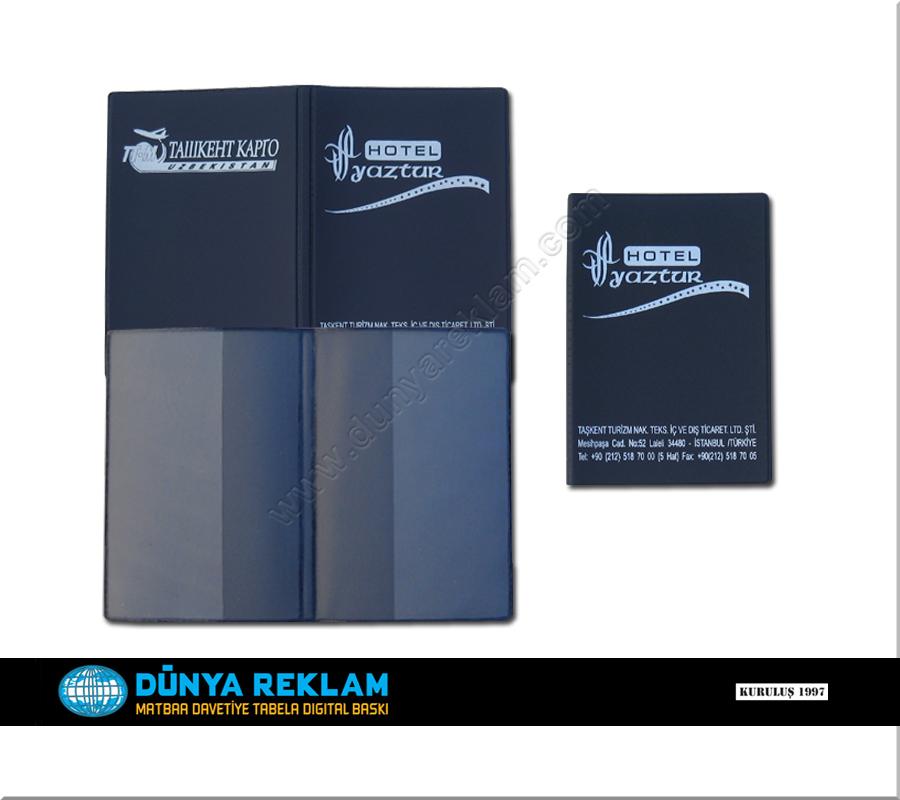 Pasaport Kabı Standart Baskılı